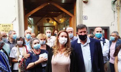 Aperto negli ex locali di Dante Tessuti il comitato elettorale di Bugetti (Pd): «Luogo simbolo di Prato e ponte tra passato e futuro»