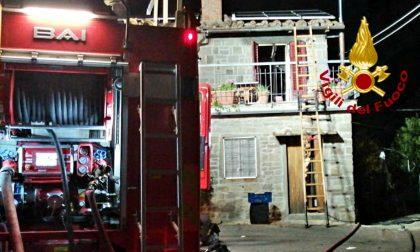 Pelago: incendio in un appartamento
