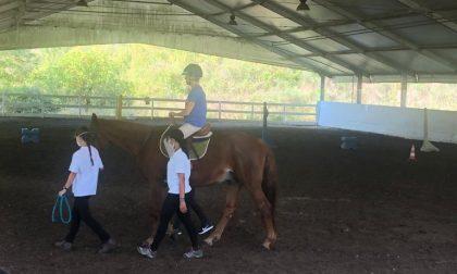Terapia assistita con il cavallo: a Villa Il Sorriso i pazienti tornano in sella