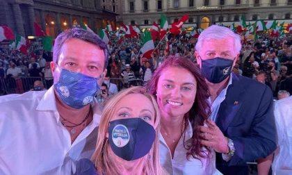 """La Toscana…""""eppur si muove"""". Gli ultimi comizi di Giani e Ceccardi. – GUARDA LE FOTO"""