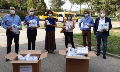 L'azienda Ma.pel Srl di Malmantile ha donato 14.000 mascherine certificate all'Istituto Comprensivo di Lastra a Signa