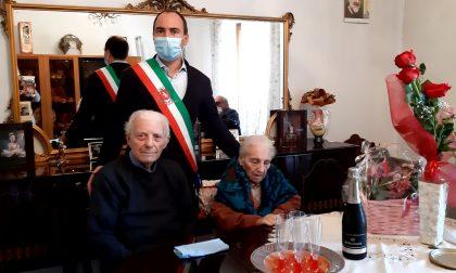 Giuseppe e Maria festeggiano 73 anni di matrimonio