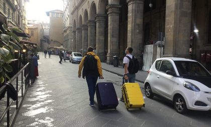 Dopo la guerriglia, nel salotto buono di Firenze è tornata la normalità