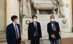 Il ministro Dario Franceschini ha visitato Santa Croce col sindaco Dario Nardella