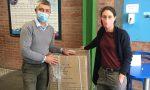 Vaiano, l'AZ Filati dona 2000 mascherine all'istituto Bartolini LE FOTO