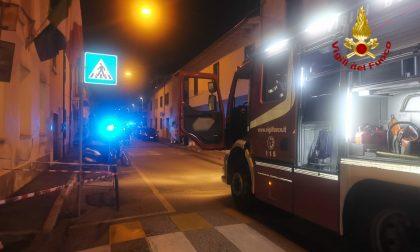 Incendio in un appartamento in via Ferrucci