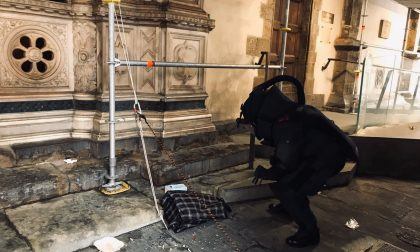 Allarme per zainetto sospetto abbandonato in centro a Firenze - LE FOTO