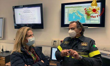Il prefetto visita la Direzione Regionale Toscana dei vigili del fuoco – LE FOTO