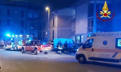 Incendio in un appartamento in via dei Gerani a San Giusto: tanta paura, nessun danno alle persone