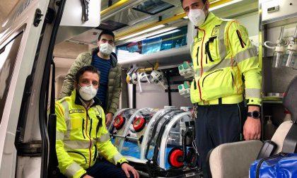 Torna in funzione l'ambulanza con barella a bio-contenimento per il trasporto dei pazienti Covid