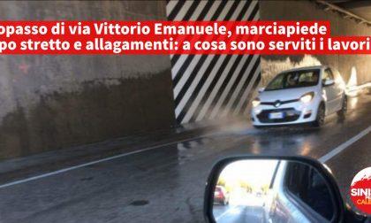 Allagamenti sottopasso Vittorio Emanuele