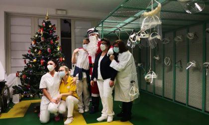 La lettera di auguri del personale sanitario ai pazienti ricoverati nel reparto Covid a Villa Fiorita