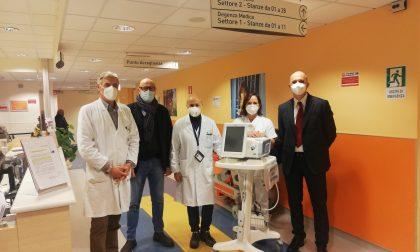 Fondazione AMI e Banca Alta Toscana hanno donato cinque ventilatori polmonari al Santo Stefano di Prato