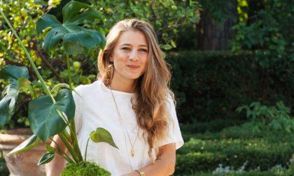 Silvia, giovane fiorentina che gira il mondo a caccia di piante speciali