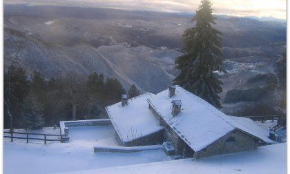 Prima (grossa) nevicata in alta Val di Bisenzio – LE FOTO