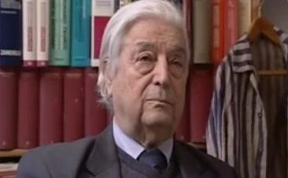 Morte di Nedo Fiano, il cordoglio del Presidente della Toscana Eugenio Giani