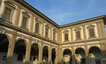 Firenze Light Festival, facciate illuminate di verde oggi pomeriggio a Santa Maria Nuova e al presidio Santa Rosa