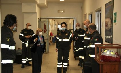 Il Prefetto di Prato in visita al comando dei Vigili del Fuoco