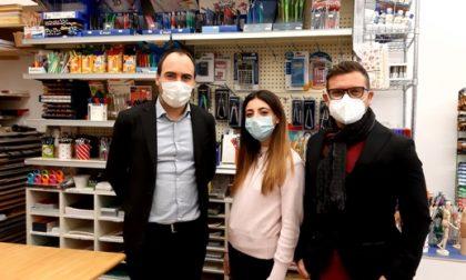 "A Bagnolo inaugurata oggi l'edicola-cartoleria ""I Grippi"""
