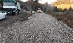 Interruzione di via di Carcheri: prosegue la realizzazione del bypass che consentirà di riaprire la strada al traffico