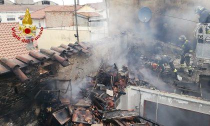 Aggiornamento incendio in via Bologna