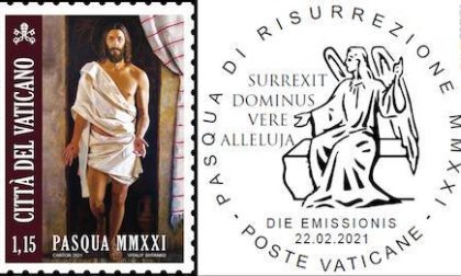 Il Vaticano sceglie come immagine per il francobollo di Pasqua un'opera della pieve di Figline di Prato. Lunedì l'annullo filatelico