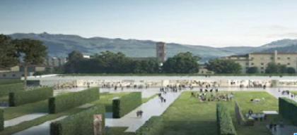 Prato, un grande parco al posto dell'ex ospedale