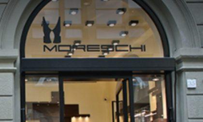 A Firenze chiude il negozio di scarpe d'alta moda Moreschi