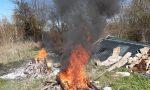 Reggello: colti sul fatto mentre bruciavano rifiuti speciali