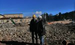 Prato: terminati i lavori di abbattimento dell'ex ospedale, il parco Centrale comincia a delinearsi