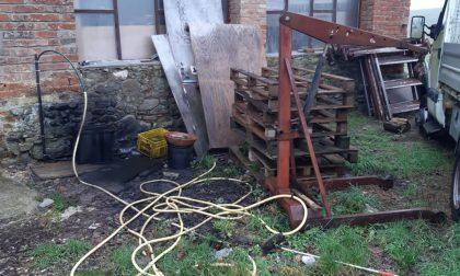 Scarperia e San Piero, Carabinieri Forestali denunciano due imprenditori per abbandono di olio motore esausto
