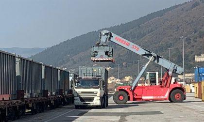Interporto: attiva la nuova tratta su ferro Prato-Cuneo