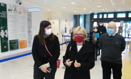 Prato, il Prefetto Cogode in visita all'ospedale Santo Stefano