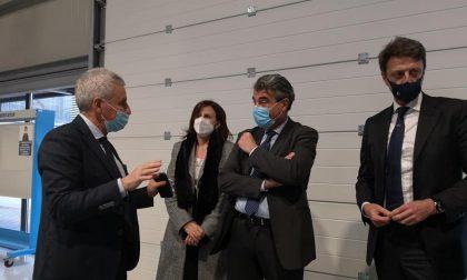 Giani e Baccelli nella sede di Hitachi per parlare con Trenitalia: nodo di Firenze e alta velocità le priorità