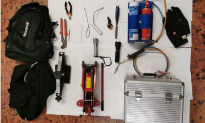 Tre arresti da parte della Polizia per furti in garage a Iolo