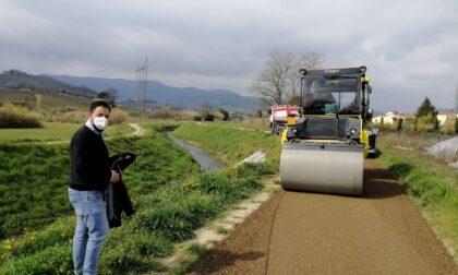 Torrente Furba: risanamento della frana e lavori pista ciclopedonale