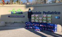 Polizia Postale Firenze: uova pasquali e peluche al Meyer e alle Associazioni su territorio