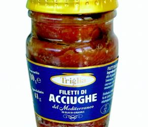 Coop ritira filetti di acciughe del Mediterraneo a marchio Triglia