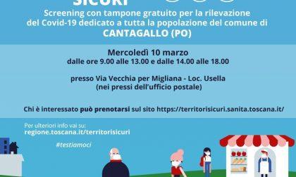 Mercoledì 10 marzo screening di massa per tutta la popolazione di Cantagallo