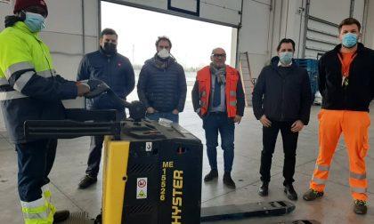 Iniziata la collaborazione tra polo logistico Gonfienti e il progetto Sai all'interporto di Prato