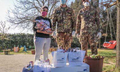 Brigata paracadutisti Folgore, donazione pasquale su Pistoia e Prato