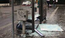 Campi Bisenzio: pensilina distrutta in via Tosca Fiesoli