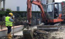 Proseguono a passo serrato i lavori di riqualificazione di via Carmignanese