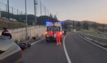 Incidente stradale sulla Sr 325 a Vaiano