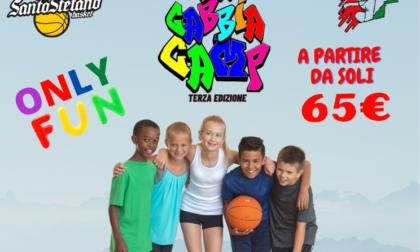 Tutto pronto per i campi estivi di Santo Stefano Basket