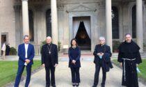 """L'emozione del cardinale Ravasi in Santa Croce per Dante: """"Messaggio di speranza e desiderio di luce per l'umanità di oggi"""""""