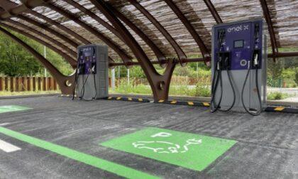 Arrivano quattro postazioni di ricarica dei veicoli elettrici lungo la Firenze-Siena