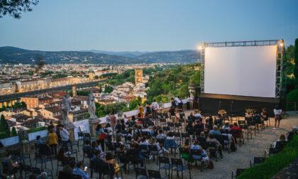 Torna 'Cinema in villa', l'arena estiva sulla Terrazza Belvedere del Giardino Bardini: proiezioni, anteprime, incontri con registri, attori e scrittori