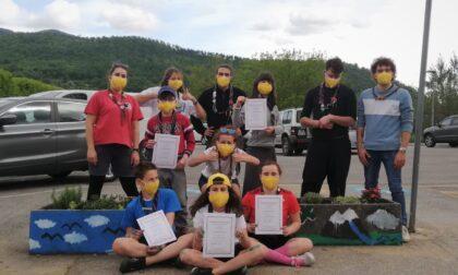 """Gli scout di Vaiano aiutano a rimettere a nuovo una parte del """"Parco Ferri"""""""