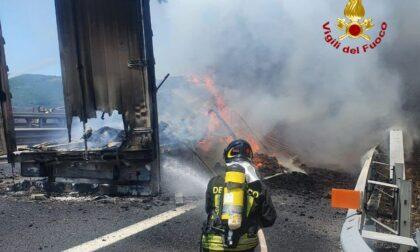 Incendio sull'autostrada verso Calenzano: ecco cosa sta succedendo